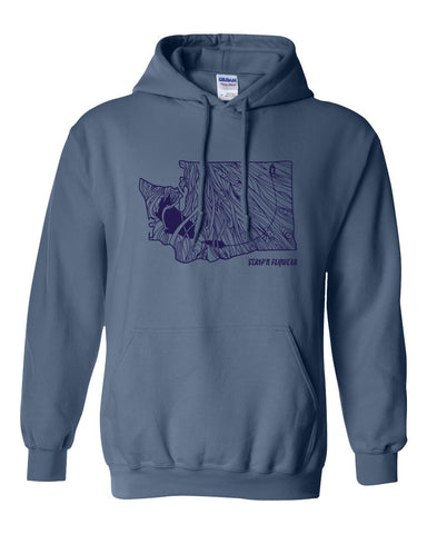 WA Rise Hoody Fly Fishing Hoody - Stripn Flywear