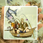 "Deadbeats Sticker 4.5"" x 4.5"" Fly Fishing Sticker - Stripn Flywear"