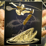 "Tre Flip Sticker 4.5"" x 5.5"" Fly Fishing Sticker - Stripn Flywear"