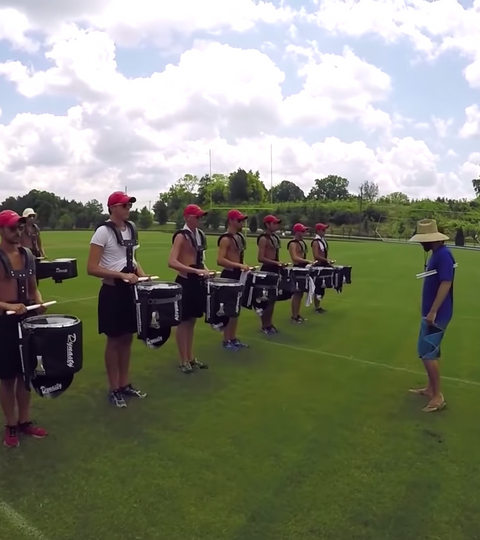 A Day With Santa Clara Vanguard 2015