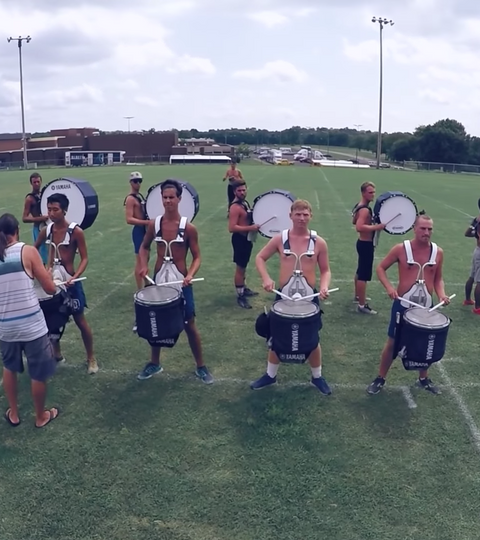 A Day With The Bluecoats 2016