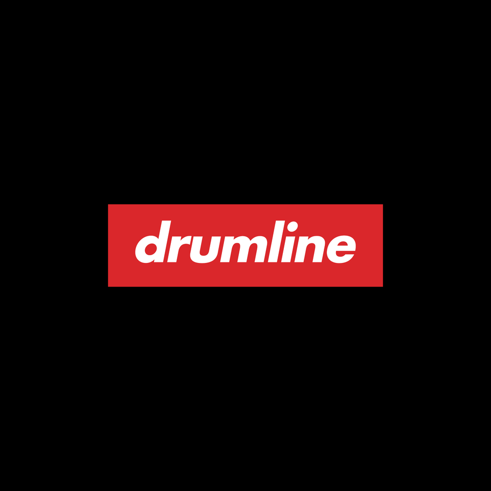Drumline Box Logo Tee - Black