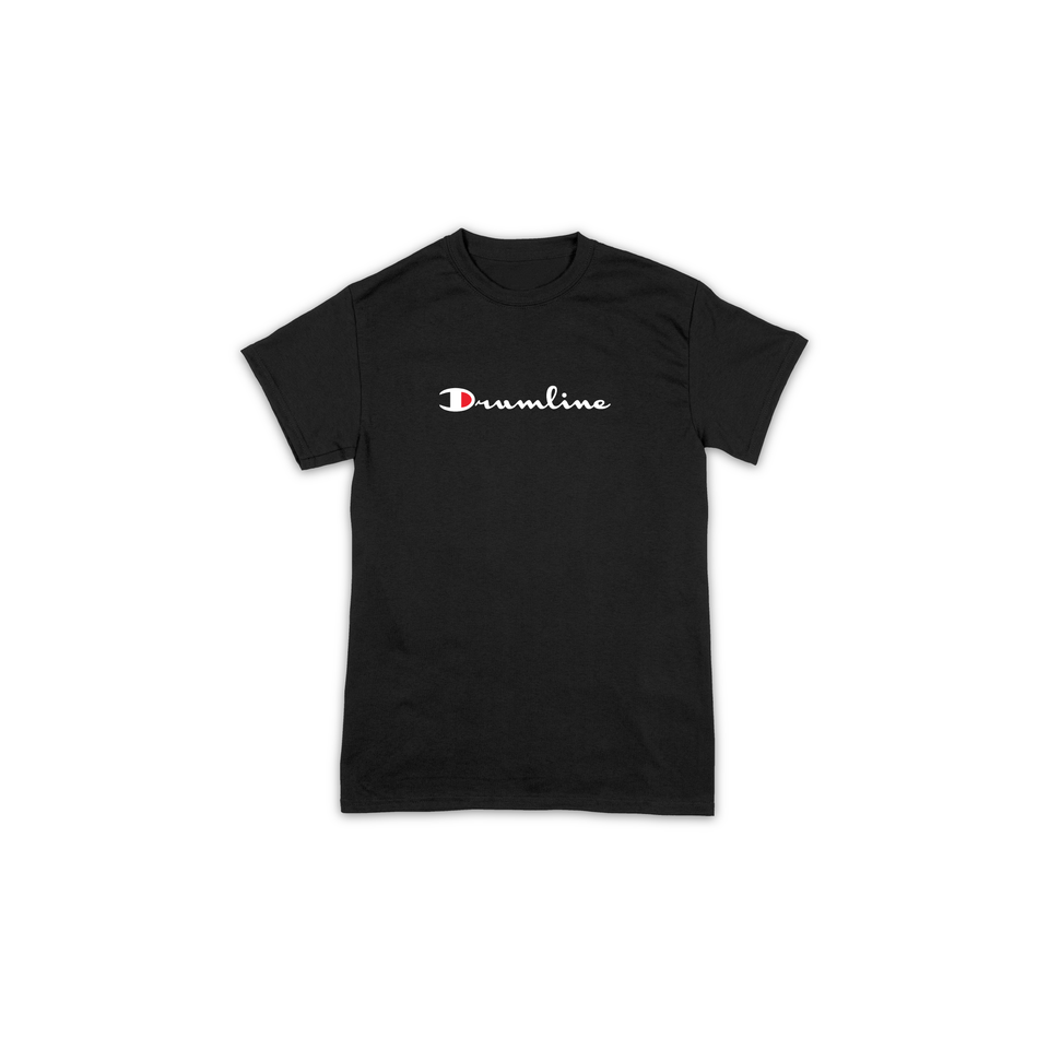 Drumline Champion Tee - Black