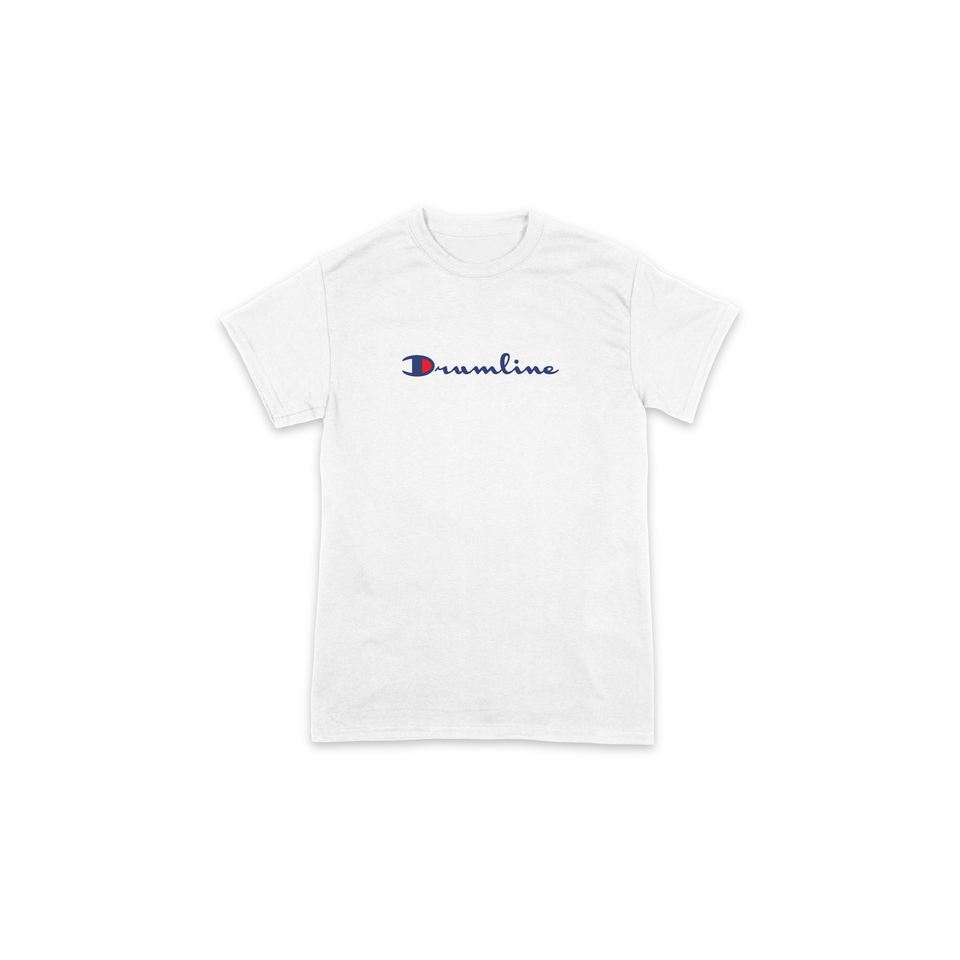 Drumline Champion Tee - White