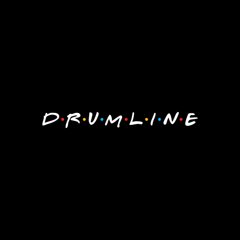 Drumline Friends Tee - Black