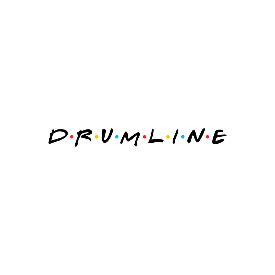 Drumline Friends Tee - White