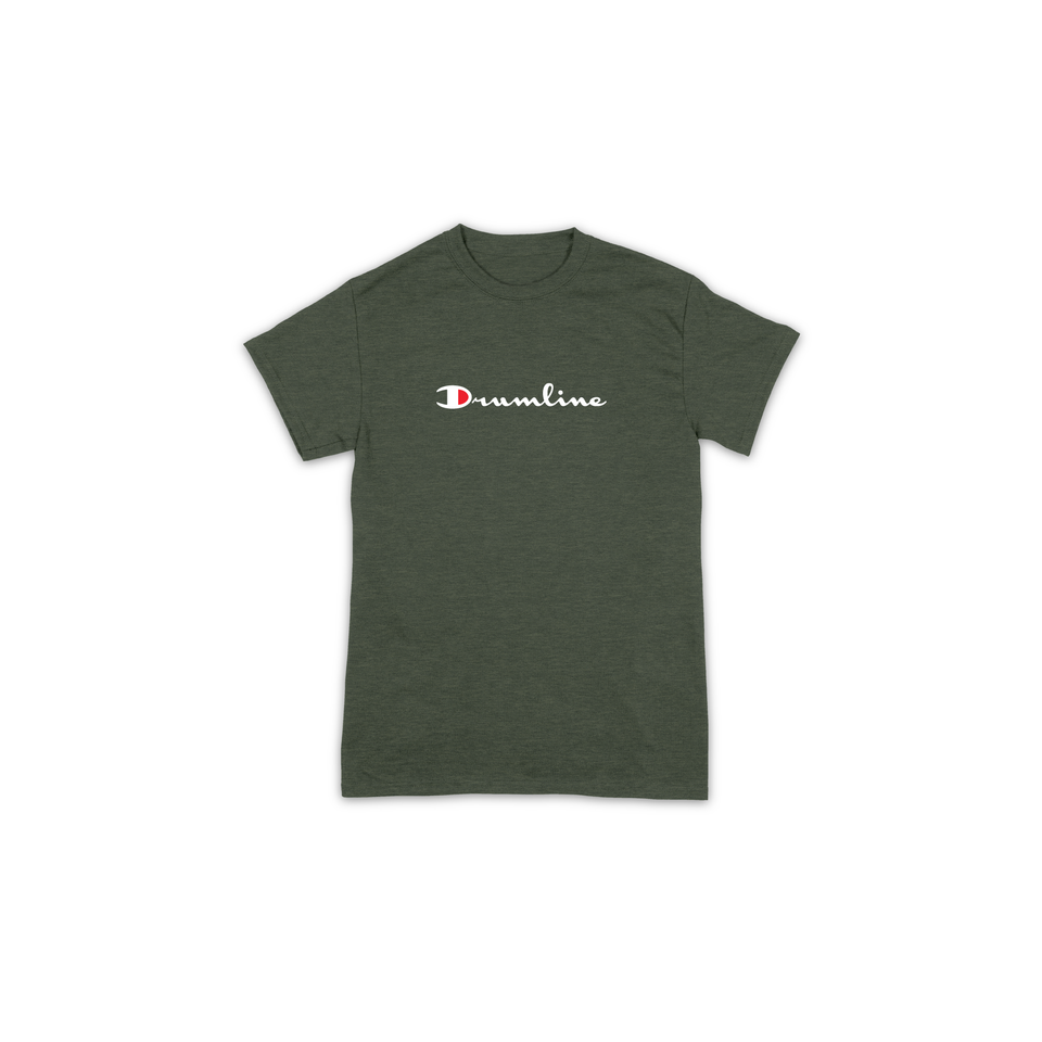 Drumline Champion Tee - Military Green
