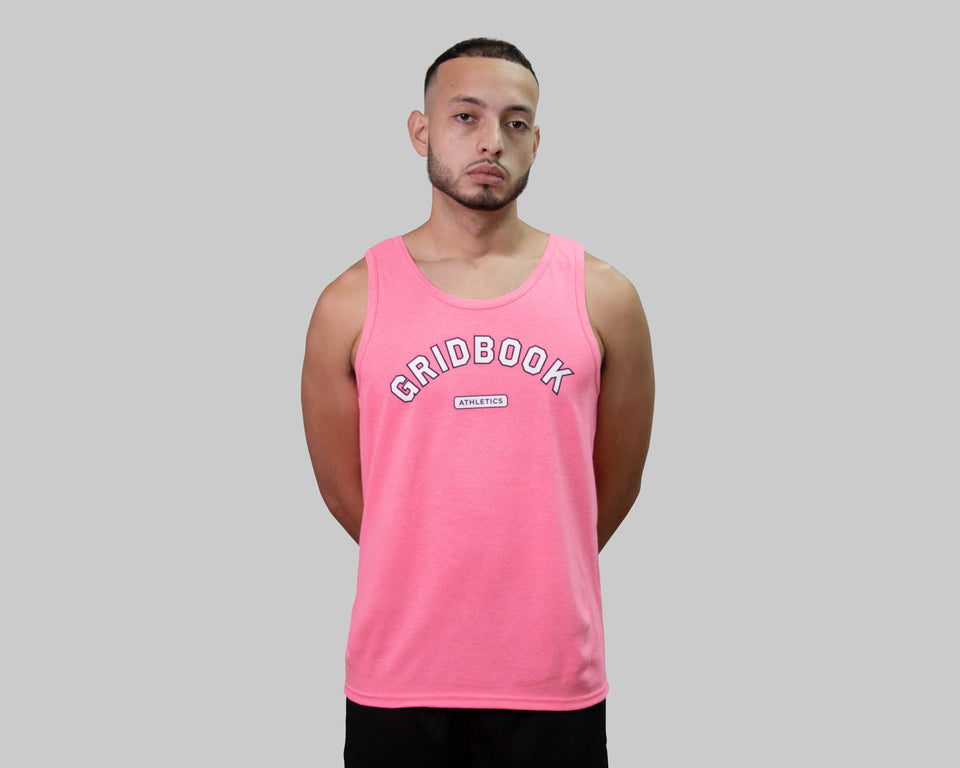 Gridbook Athletics Tank - Pink