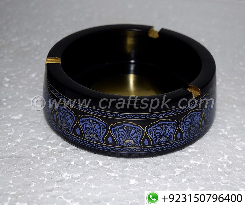 Lacquer Art Wooden Cigar Ashtray