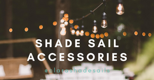Shade Sail Accessories - Garden, Patio Decor Ideas and Inspiration