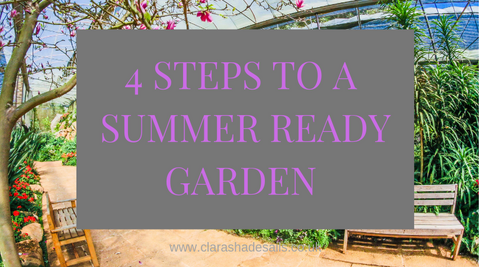 4 steps to a summer ready garden