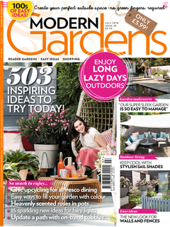 Modern Gardens Magazine July 2018 PR Feature Full Page Shade Sails