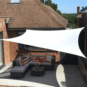 Nearly Perfect - Shade Sails Opened But Not Used - Clara Shade Sails