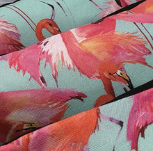 Pink Flamingo Cushion Covers - Tropical Palm Scatter Throw Pillow 45x45cm - Clara Shade Sails