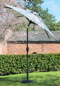 Garden Parasol Umbrella Crank & Tilt Round Various Sizes - Clara Shade Sails