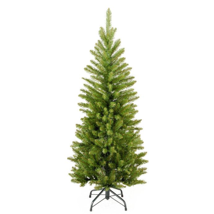 Kingswood Fir Slim Artificial Christmas tree - 5 sizes: 3ft 4ft 5ft 6ft 7ft - Clara Shade Sails