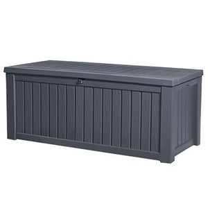 Keter Rockwood Storage Box Wood Effect 570L
