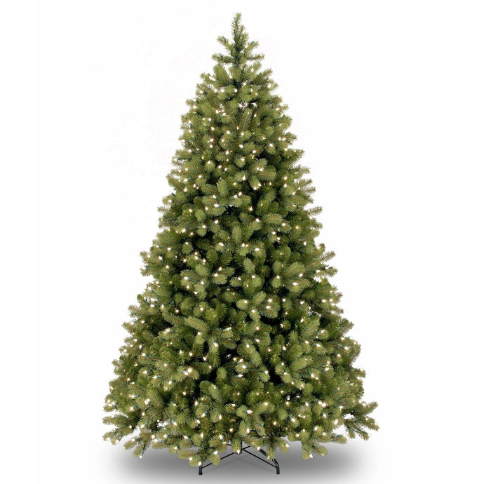 Bayberry Spruce Artificial Christmas tree white LED lights- 2 sizes: 6ft 7ft - Clara Shade Sails