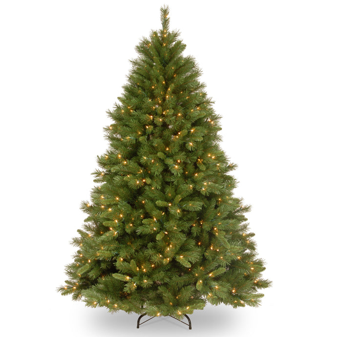 Winchester Pine Artificial Christmas tree white LED lights- 2 sizes: 6.5ft 7ft - Clara Shade Sails