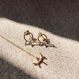 Dainty Sun Ray Necklace