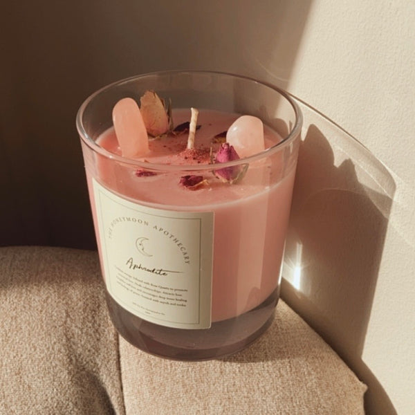 Large Aphrodite Candle