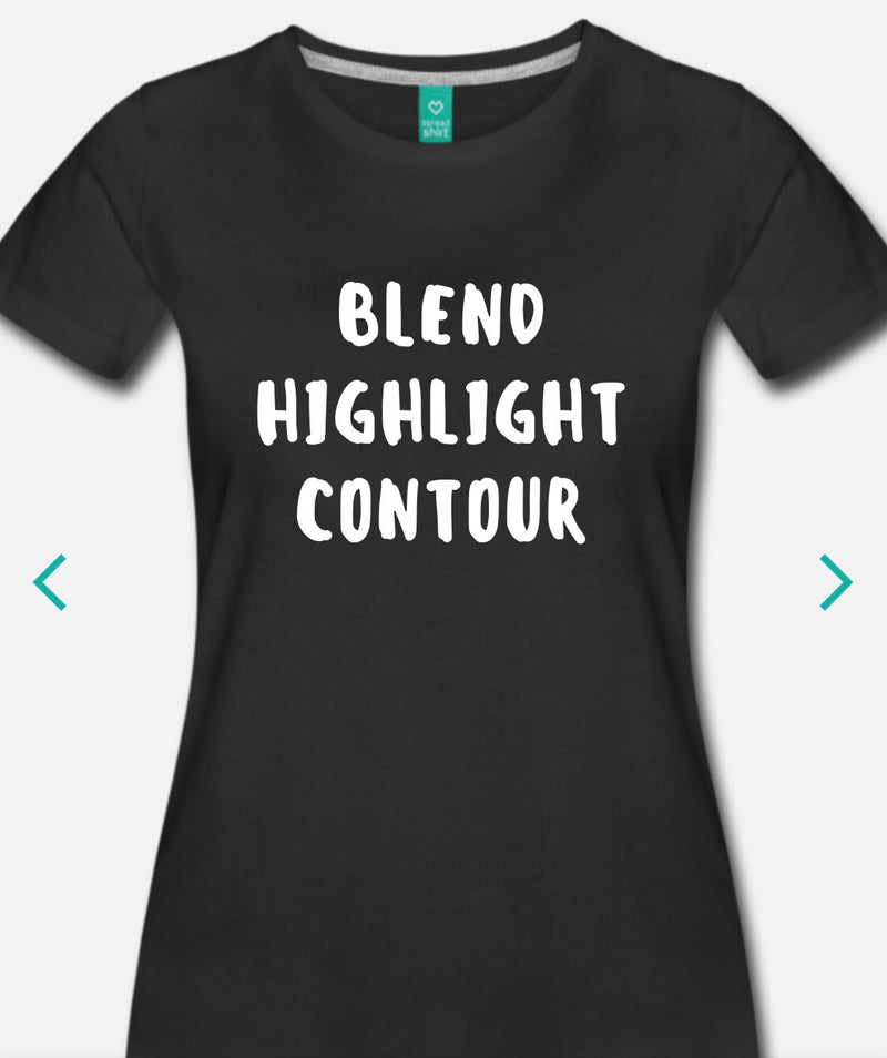 Blend Highlight Contour T-Shirt