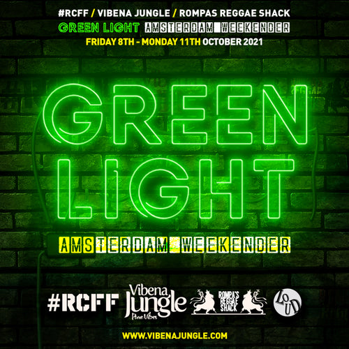 Green Light Amsterdam Weekender - Single Saturday Ticket Only (Rompas Reggae Shack and #RCFF)