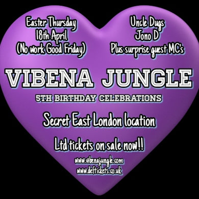 Vibena Jungle 5th Birthday