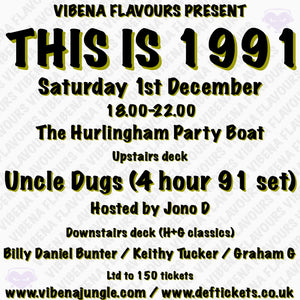 Vibena Flavours Present 'THIS IS 1991'