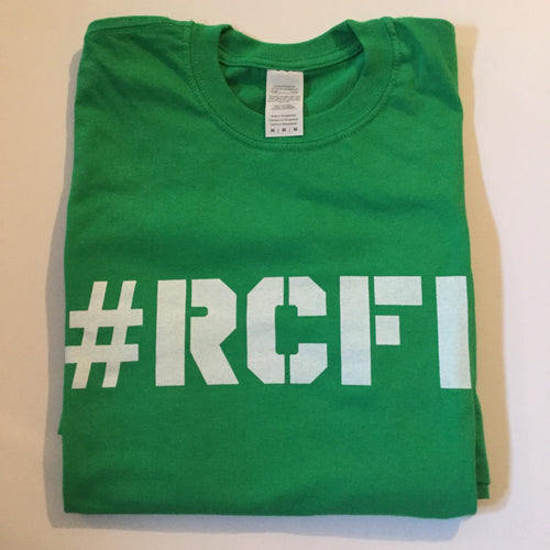 #RCFF Green T-Shirt / White Logo *FREE UK POSTAGE*