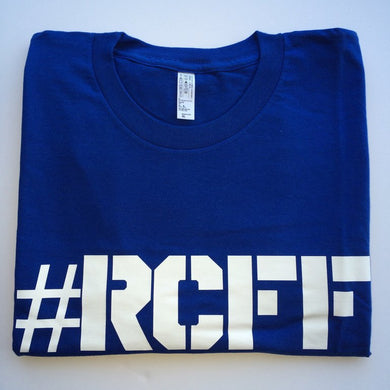 #RCFF Blue T-Shirt / White Logo