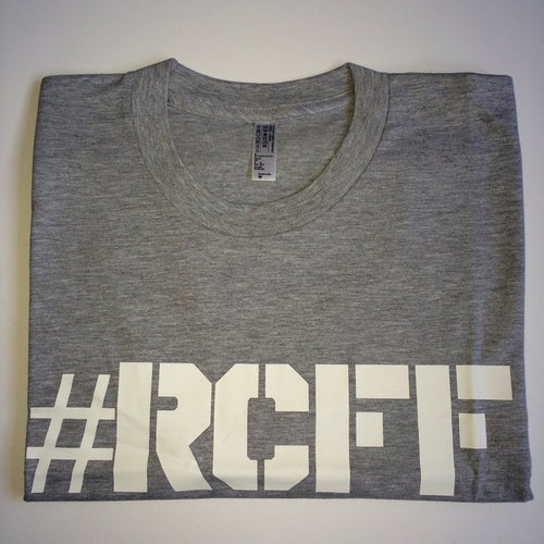 #RCFF Grey T-Shirt / White Logo
