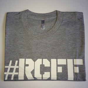 #RCFF Grey T-Shirt / White Logo *FREE UK POSTAGE*