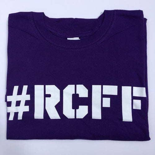 #RCFF Purple T-Shirt / White Logo *FREE UK POSTAGE*