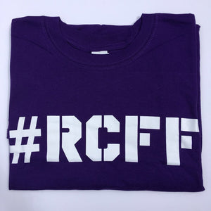 #RCFF Purple T-Shirt / White Logo
