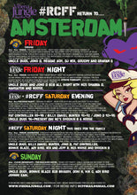 Amsterdam weekender Saturday night club only ticket (no booking fee)