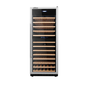 133 Bottle Professional Series Dual Zone Wine Cooler