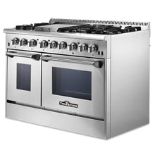 Load image into Gallery viewer, Thor Kitchen Hrd4803U 48 Inch Dual Fuel Double Oven | Thor 48 Dual Fuel Range