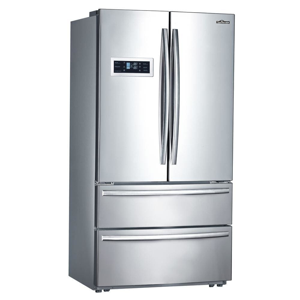 Thor Kitchen Hrf3601F 36 Inch Stainless Steel Counter Depth French Door Refrigerator