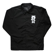 Load image into Gallery viewer, Button Up Windbreaker Jacket (Black)