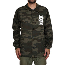 Load image into Gallery viewer, Button Up Windbreaker Jacket (Camo)