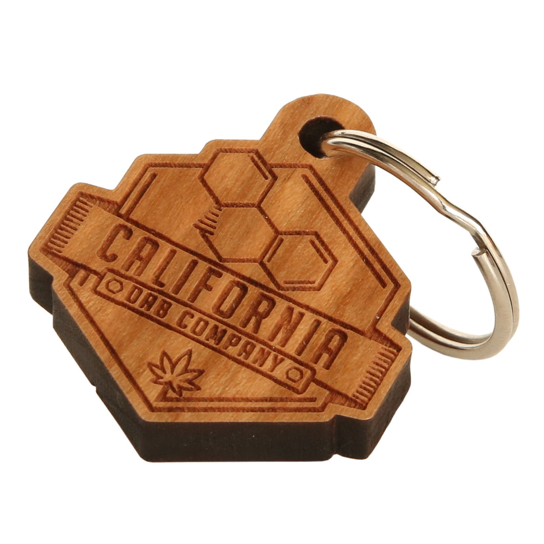 CA Dab Co Keychain (Wood)