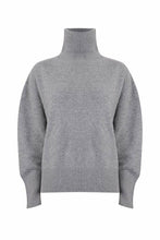 Load image into Gallery viewer, The Boyfriend Turtleneck London Grey
