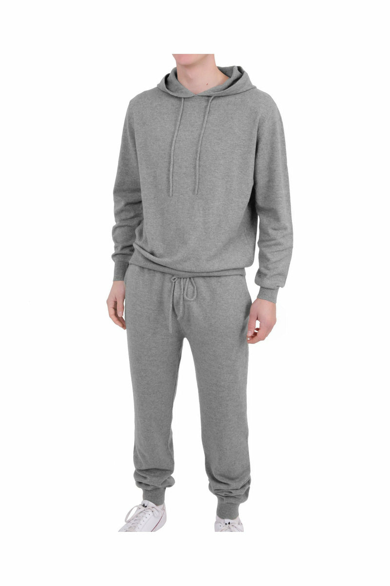 Pre-Order 100% Cashmere Men's Set London Grey