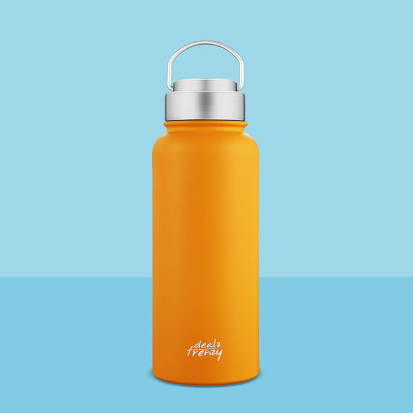 HOLDS 22/32 OZ wide mouth water bottle