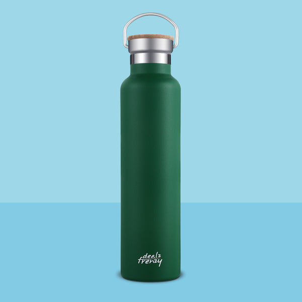 Holds 26 oz Standard mouth Vacuum Thermos