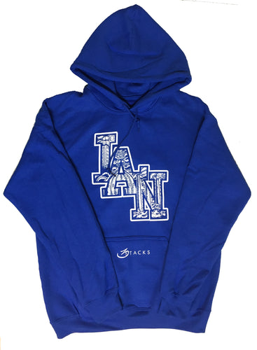 LAN ICON HOODY ROYAL BLUE