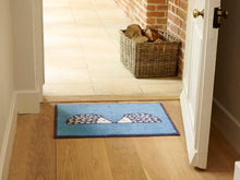 Load image into Gallery viewer, Kissing Spike Door Mat (Turq)