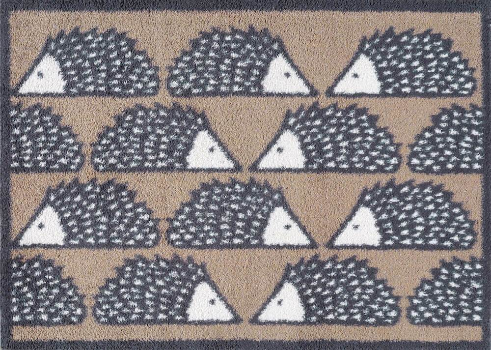 Spike Allover - Door Mat (Brown)