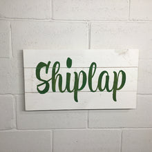 Load image into Gallery viewer, Shiplap - 3 Board 24""